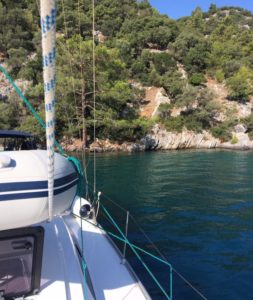 During sailing holidays you will often spend time on board, make sure you have some creature comforts to hand!