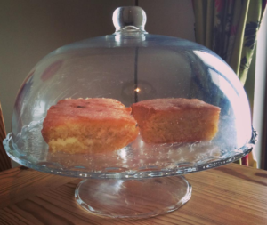 Cake: a vital ingredient for a day in the life of a chalet host!
