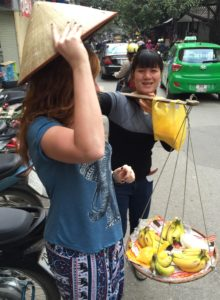 Haggling with the locals in Vietnam