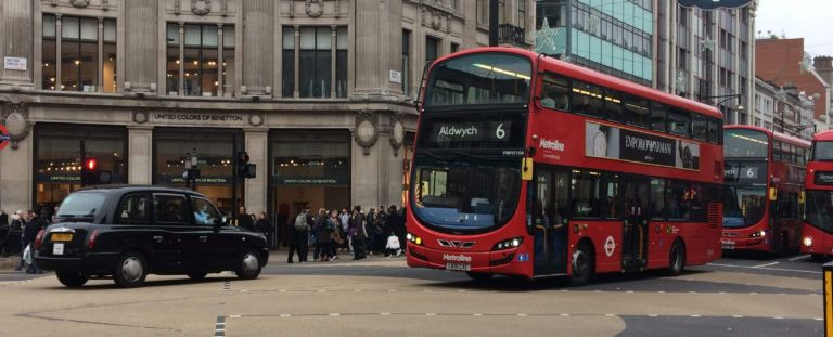 One of the most common London myths is that the public transport in the city is poor.