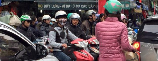The chaos that is Vietnam's roads!