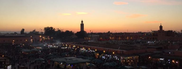 Jemaa El Fnr at Night