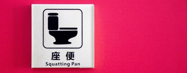Squat Toilets Sign
