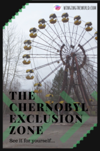 Chernobyl exclusion zone.
