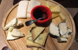 The cheese at Ostannya Barykada was my personal highlight.