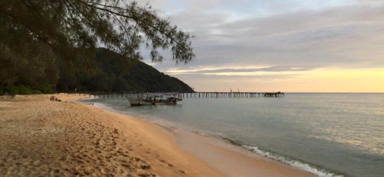 Koh Rong Samloem is the first place to come to mind when I think about hidden beauty spots.