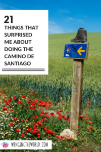 21 things that surprised me about doing the Camino de Santiago