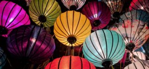 Handcrafted lanterns are some of Asia's most famous souvenirs.