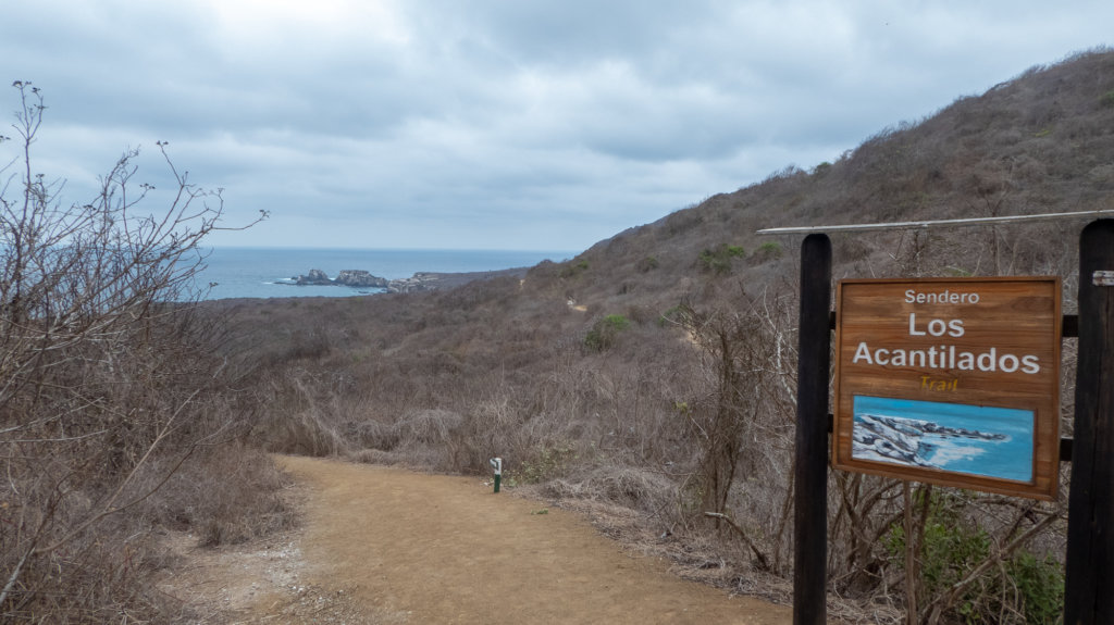 Poor Man's Galapagos Isla de la Plata walking trail.Poor Man's Galapagos Isla de la Plata walking trail.