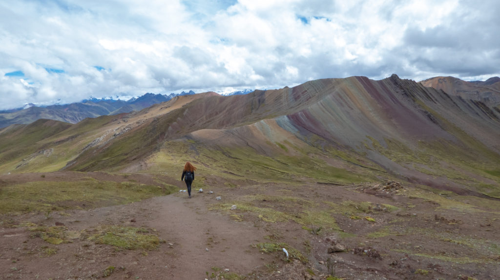 Rainbow mountain was one of the landmarks we saw on our slow travel journey!