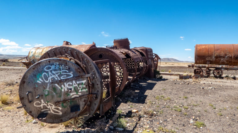 Bolivia's Train Graveyard: The steel ghosts of better times...