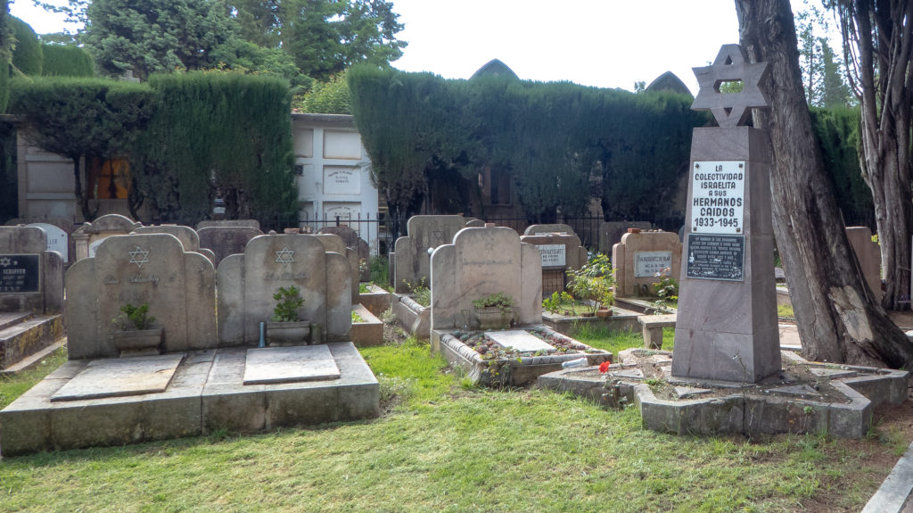 Graves at Sucre Cemetery
