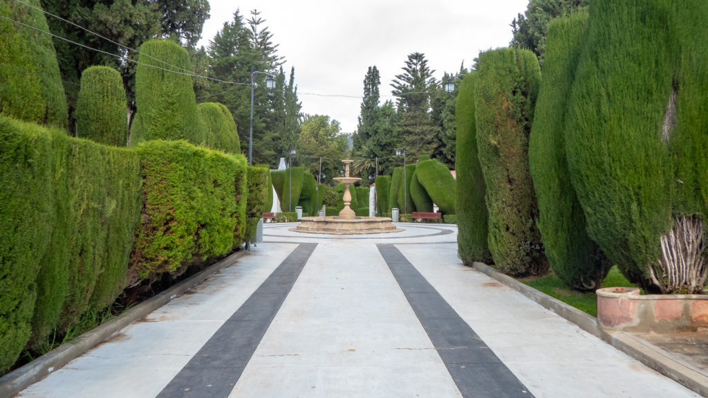 Gardens at Sucre Cemetery