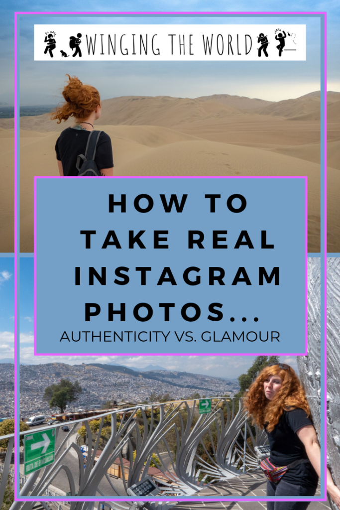How to take real Instagram photos... Authenticity versus glamour