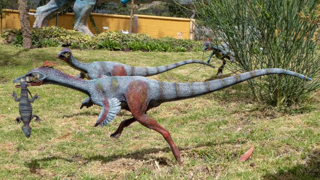 More dinosaur models at Parque Cretácico