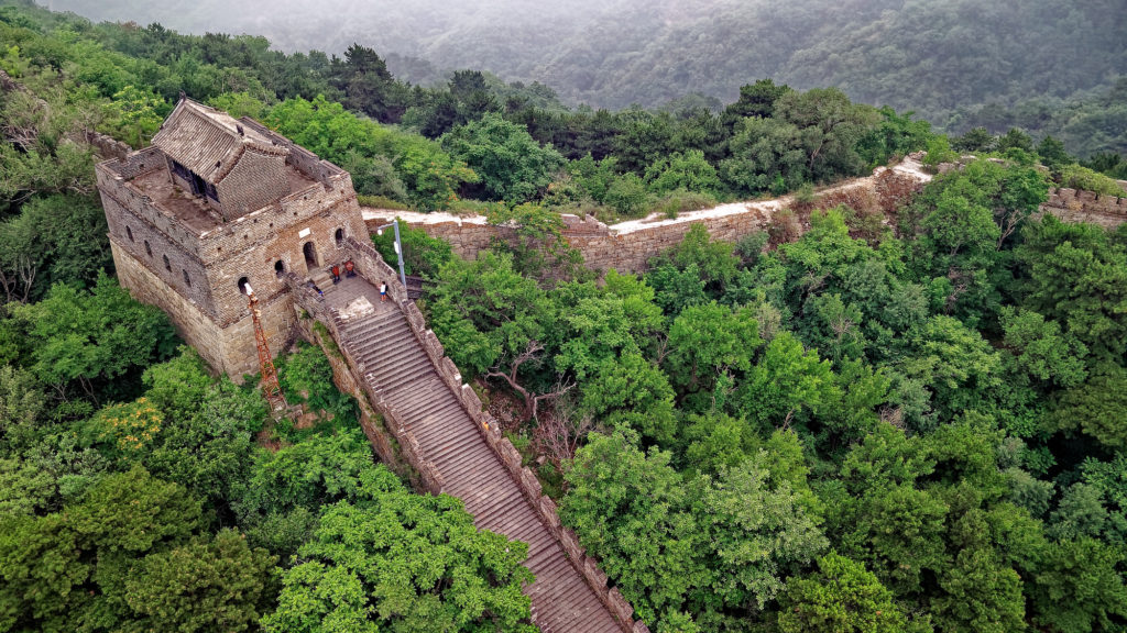 Great Wall of China - journeys from hell