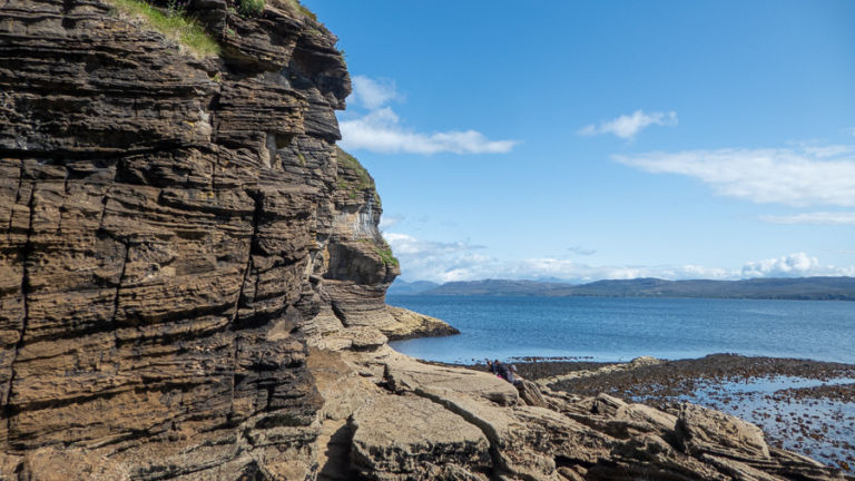 Cliffs near Elgol