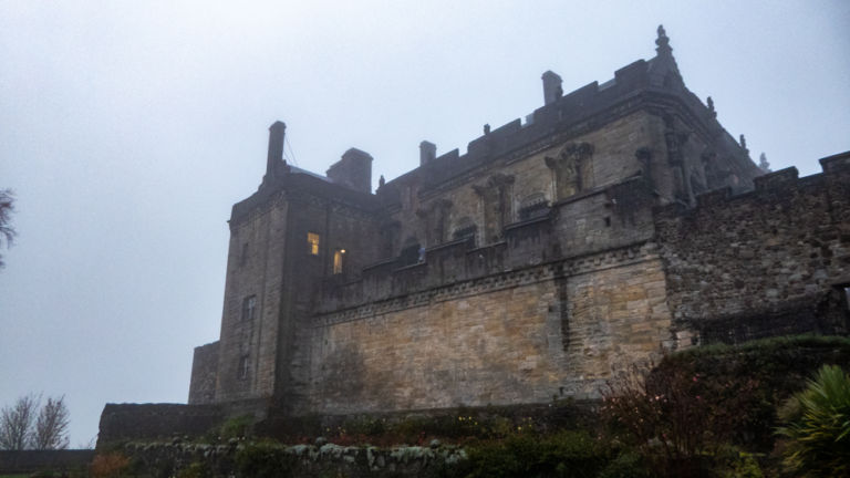 Stirling Castle from side