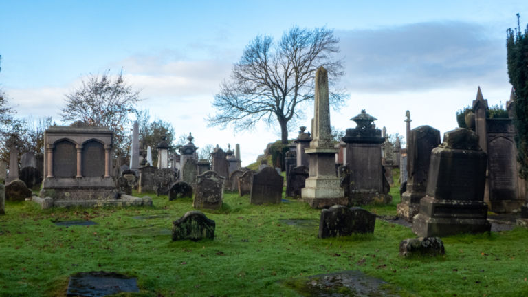 Old Town Cemetery, Stirling.