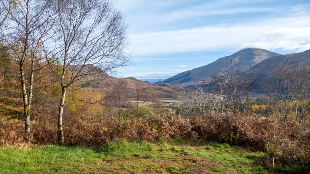 Beautiful Scottish countryside