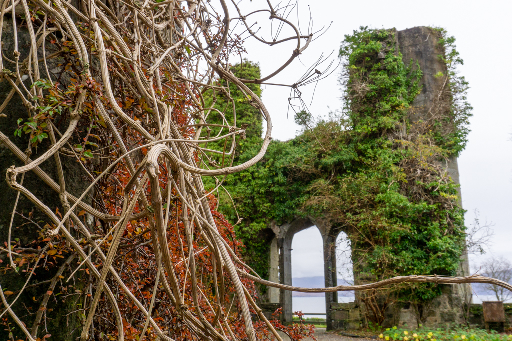 Ruins of Armadale Castle, Isle of Skye.