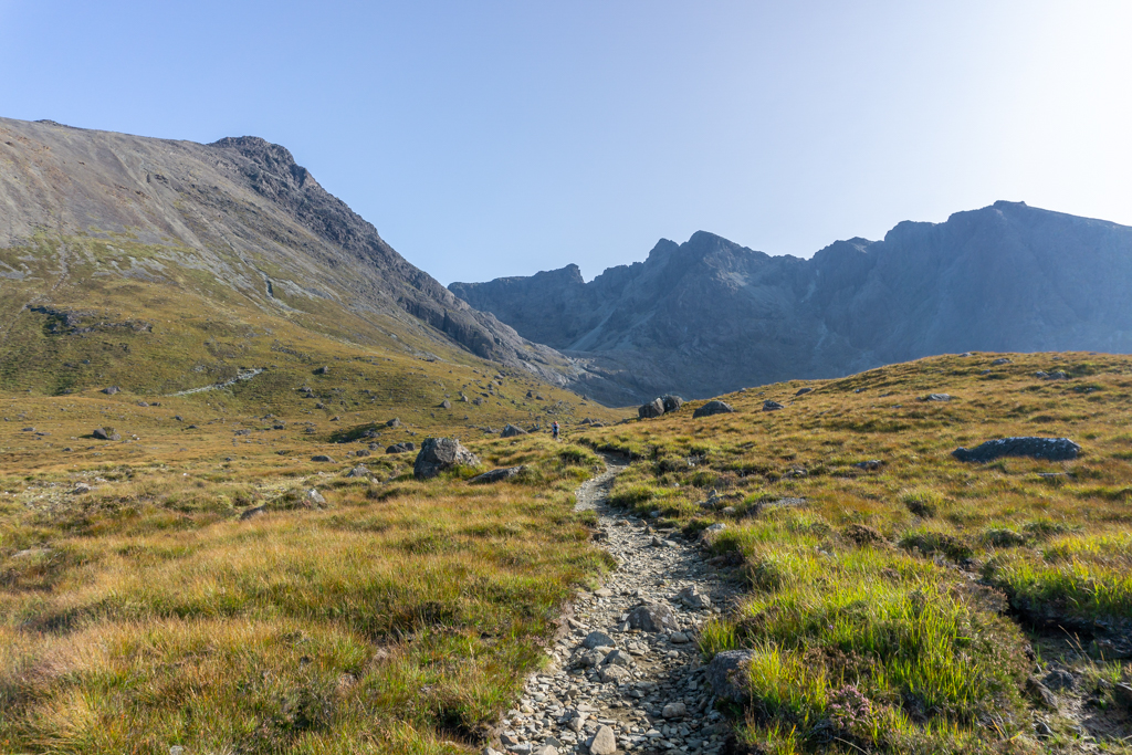 Track into Cuillin from Glen Brittle