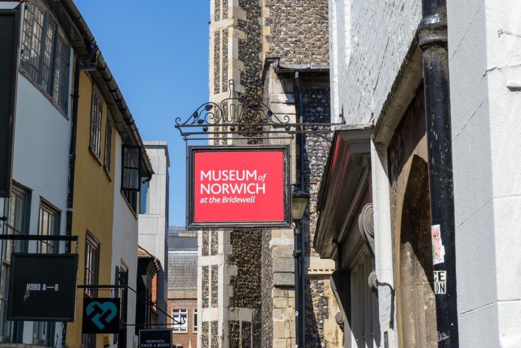Museum of Norwich sign